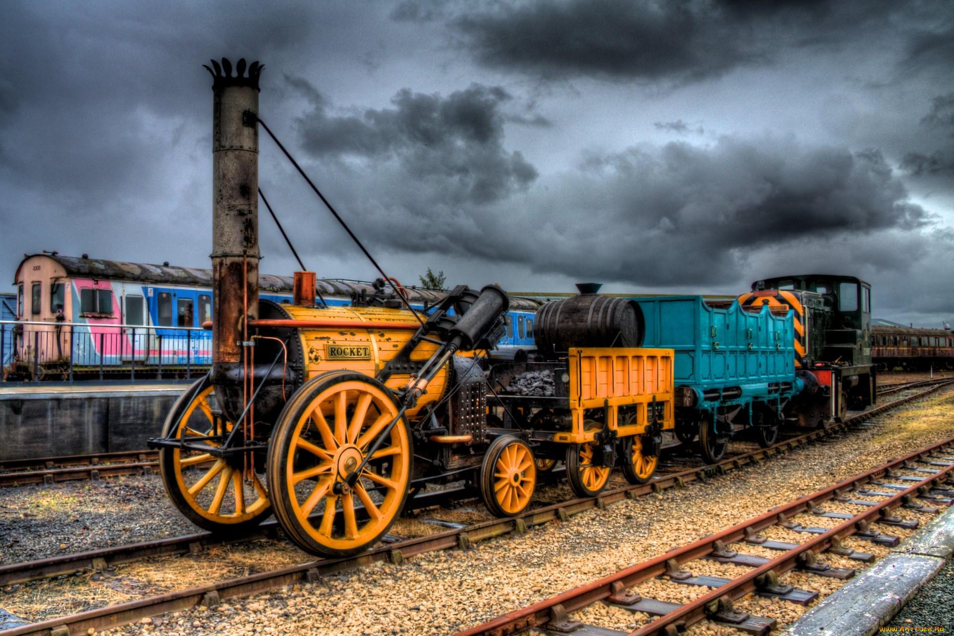 фотографии старых паровозов как раков